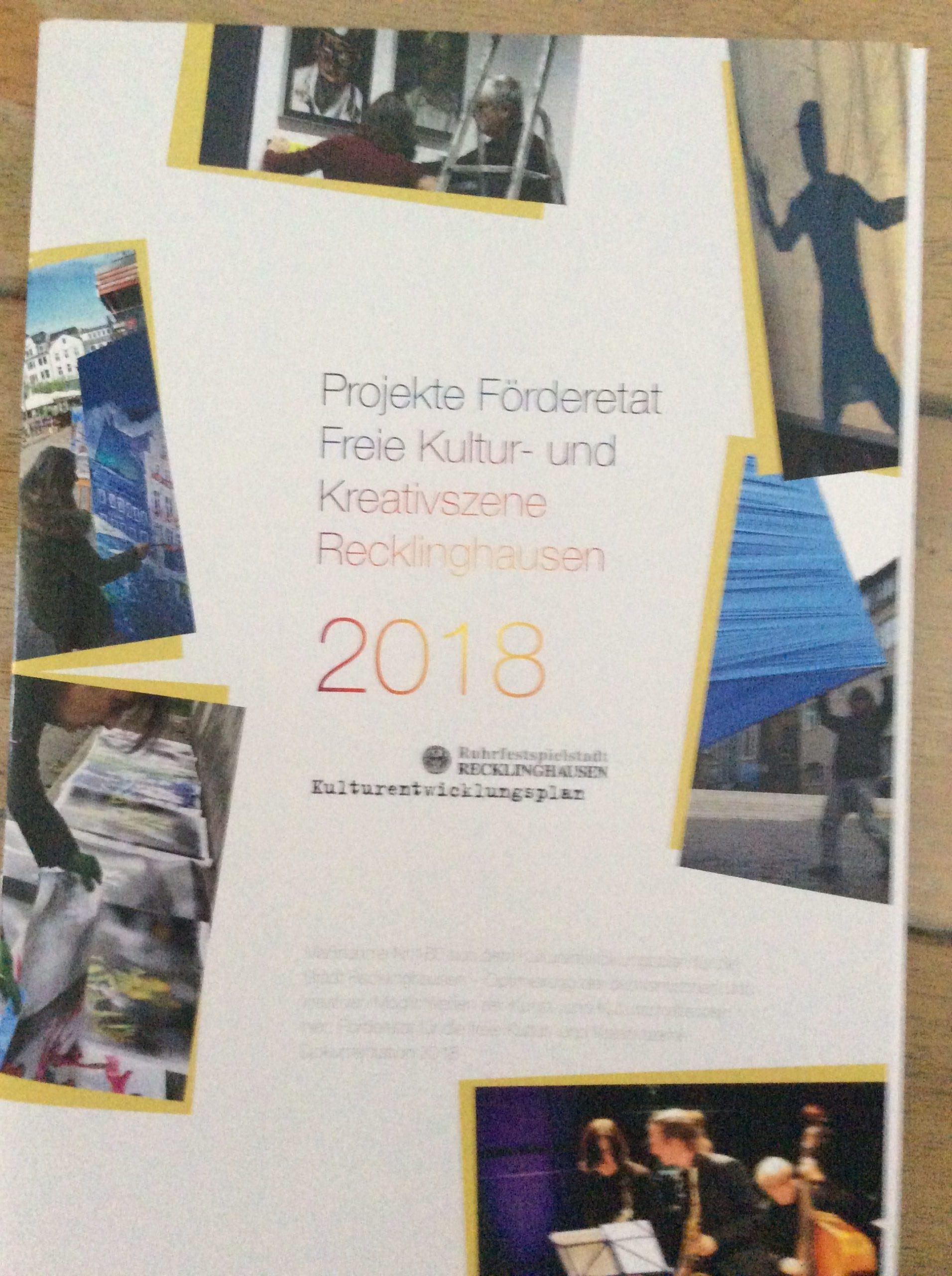 Projekt Förderetat Freie Kultur-und Kunstszene Recklinghausen
